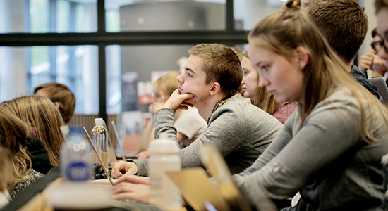 Studerende på statskundskab. Foto: Sara Galbiati